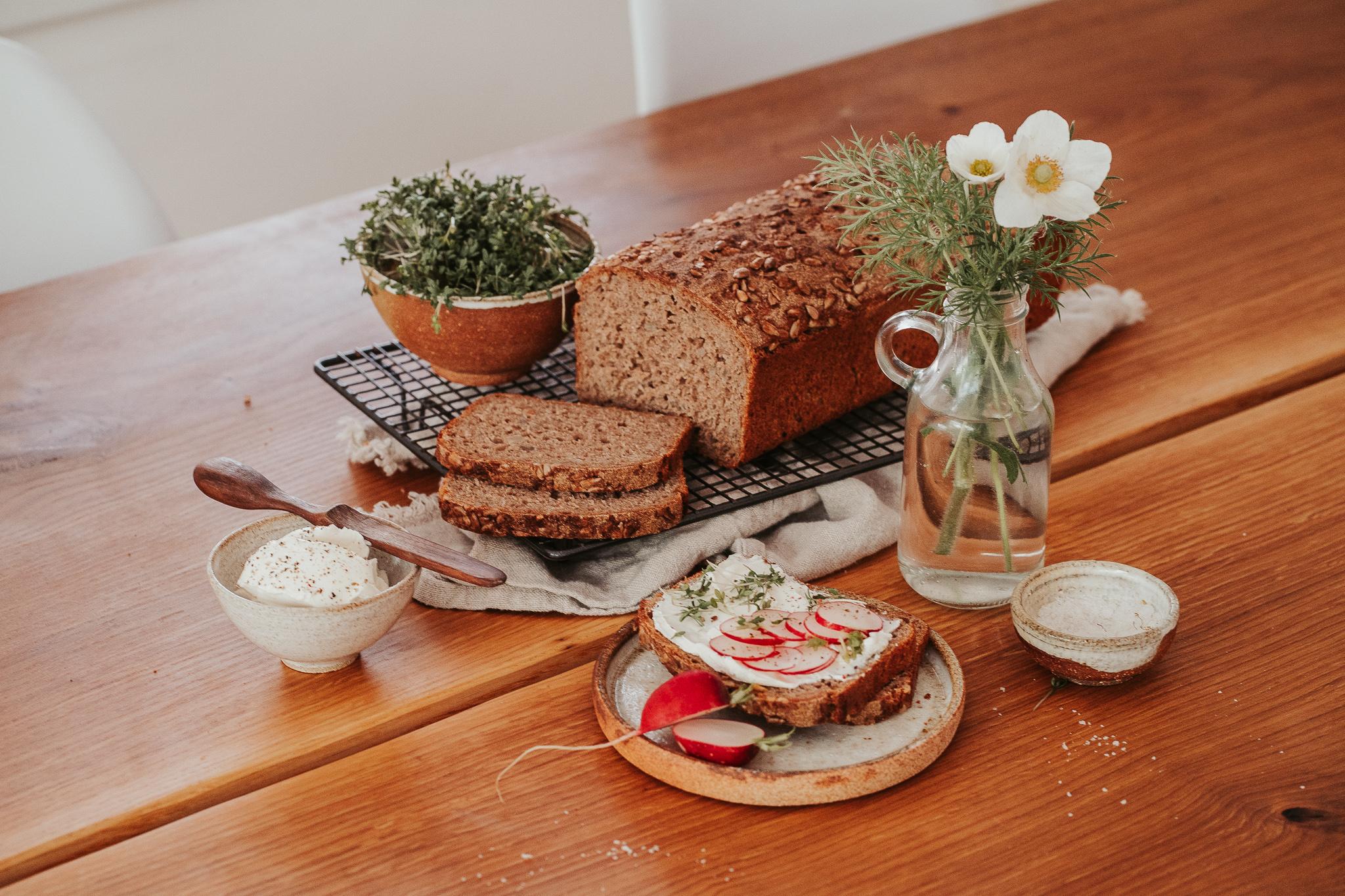domácí chléb z kvásku